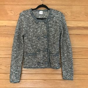 CAbi Ritz double breasted snap button cardigan